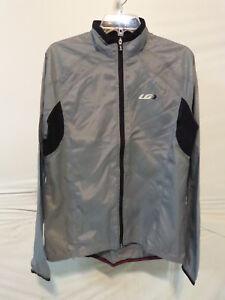 Louis Garneau Women's Luciole RTR Cycling Jacket Large Steel retail $89.99