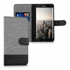 kwmobile Custodia portafoglio per Samsung Galaxy S7 edge - Cover in simil (W3w)