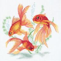 Counted Cross Stitch Kit PANNA - Goldfish