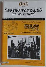CPC Cartes Postales et Collection n°114- Christian Deflandre Paris 1910 inondé