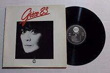 JULIETTE GRECO Greco 83 LP Disques Meyes Rec. 2400521 France 1983 VG++ ORIG 9C