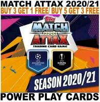 MATCH ATTAX 2020/21 20/21 CHAMPIONS LEAGUE  - POWER PLAY CARDS
