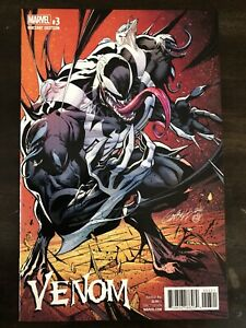 VENOM #3 1:100 CAMPBELL VARIANT MARVEL COMICS NM