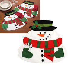 Décorations de table de Noël couverts sans marque pour la maison
