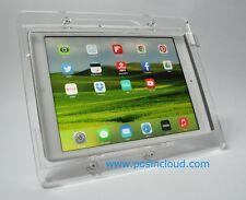 iPad Air Vesa Acrylic Case w Desktop Stand for Pos, Kiosk, Square, Show Display