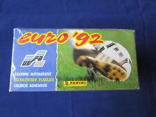 Panini EM EC Sweden 1992 Euro 92, sealed box display, 100 bustine/packets/Tüten
