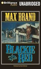 Max Brand New CDs Unabridged Western Audio Book Blackie and Red 6 Disc # 254