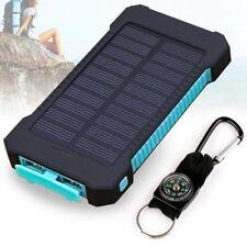 20000mah Solar Power Bank Cargador Portátil Impermeable Teléfono Tablet con brújula