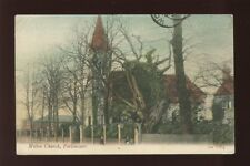 Hampshire Hants PORTSMOUTH Milton Church used 1900s PPCby J Welch