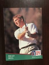 1991 Pro Set #170 - Brad Bell (RC) - Golf