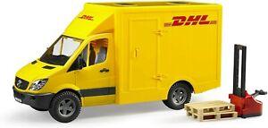 Bruder (02534) 1:16 Scale Toy DHL Mercedes-Benz Sprinter Delivery Van - BA
