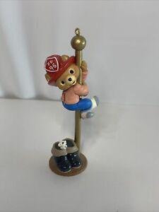 Hallmark Fire Pole Christmas Ornament -1996