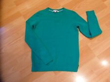 BODEN 100% CASHMERE GREEN LONG SLEEVE JUMPER SIZE SMALL OR  10/12