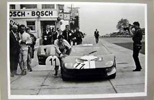 1965 Chris Amon/ Shelby American Ford GT 40 Car Poster