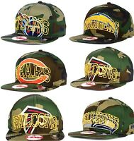 New Era NFL Authentic 9FIFTY 950 Snapback Metallic Cue Camo Adjustable Hat Cap