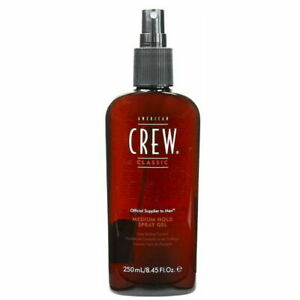 American Crew Medium Hold Spray Gel 250ml [8.45 fl. oz.]