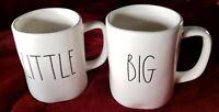 Rae Dunn Big & Little Mugs By Magenta  - Farmhouse Rustic Decor Coffee / Tea