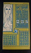 Moby Grape Lee Michaels 1966 Fillmore Auditorium postcard
