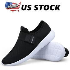 Men's Running Casual Slip on Sneakers Lightweitht Tennis Walking Athletic Shoes