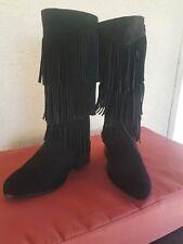 5df78fea63a1d3 Little Girls Sam Edelman Suede fringe tall boots