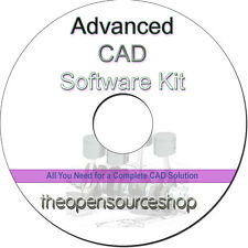 3D CAD Software, Architectural CAD Software, Computer Aided Design Software CD