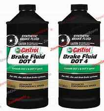 Castrol Brake Fluid DOT4 Advanced Performance for BMW 2 Quart New 81229407512