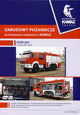 Kamaz Fire Trucks brochure 2016