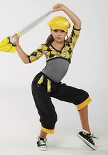Dance Costume Medium Child Yellow plaid Hip Hop Jazz Solo Competition Pageant