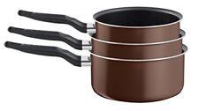 Tefal - Serie 3 casseroles 14/18/20 cm Extra Brownie