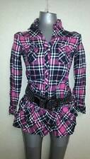 Pink checkered dress - Preloved from Japan