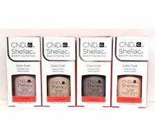 CND Shellac Gel Polish  Nude The Collection Special 2018 (4 pcs) On Sale