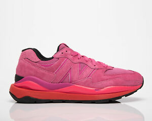 New Balance 57/40 Men's Pink Glo Lifestyle Shoes Casual Lace Up Sneakers