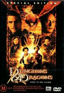 Dungeons and Dragons DVD REG 4 AUST - Jeremy Irons - Adventure