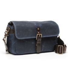 Ona The Bowery Canvas (Navy) Camera Bag - Handcrafted Premium Bag