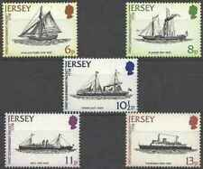 Timbres Bateaux Jersey 181/5 ** (39240Y)