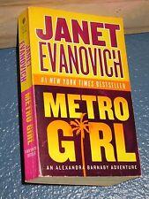 Metro Girl by Janet Evanovich FREE SHIPPING 0060584025 (ALEXANDRA BARNABY)