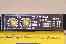 NIB SQ D SQUARE D CLASS 9006-PET0 PHOTO ELECTRIC TIMER MODULE P101