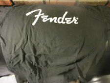 Black FENDER GUITARS Classic Logo T Shirt Small