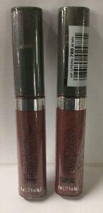 2 X Max Factor Lip Gloss COLOUR PERFECTION Luxe LipGloss #780 Maui Mauve NEW