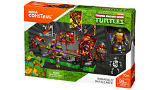 Mega Bloks Construx TMNT DONATELLO BATTLE PACK 3 Rock Soldiers Ninja Turtles NEW