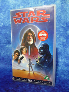 STAR WARS A New Hope VHS 1995 Digitally Remastered THX The Original For The Last