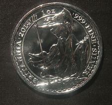 2014 BRITANNIA 1 OZ  0.999 FINE SILVER  WITH HORSE PRIVY  LOT 030929
