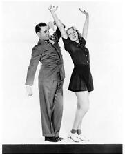 LeROY PRINZ & GRACE BRADLEY great 8x10 still dance rehearsal -- n873