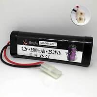 Akku Batterie 7,2V 3500mAh Ni-MH NiMh X-treme Tuning RC Car Auto Tamiya-Stecker