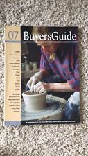 Ceramic Arts Buyers Guide Magazine A Studio Reference 2007