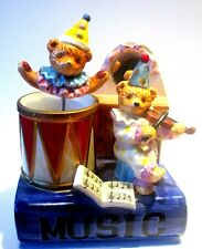 Music box, From ceramic with moving Clown