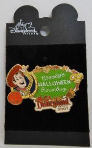 Disney Toy Story Woody's Halloween Roundup 2007 Pin