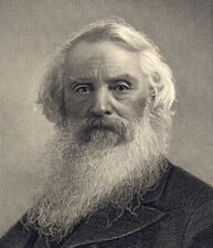 Inventor of single-wire telegraph SAMUEL FINLEY MORSE engraving & the Code