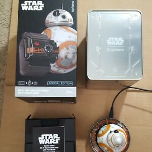 Sphero Star Wars Battle Worn BB-8 App-Enabled Droid Tested Works *NO FORCE BAND*