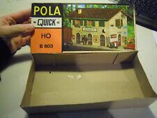 SCATOLA VUOTA - POLA QUICK HO B603 - STAZIONE DI BELLARIA - VINTAGE (VV)